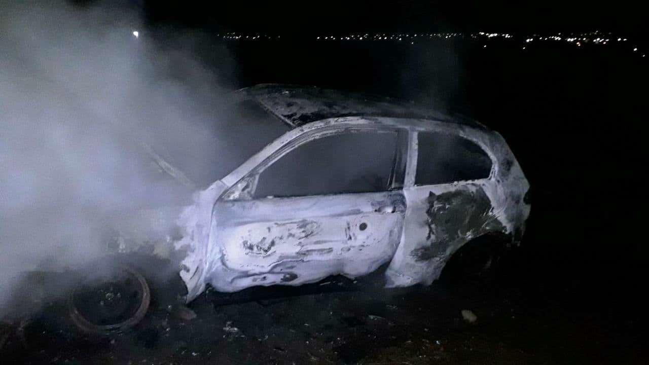 В Запорожье загорелось Alfa Romeo, - ФОТО, фото-1