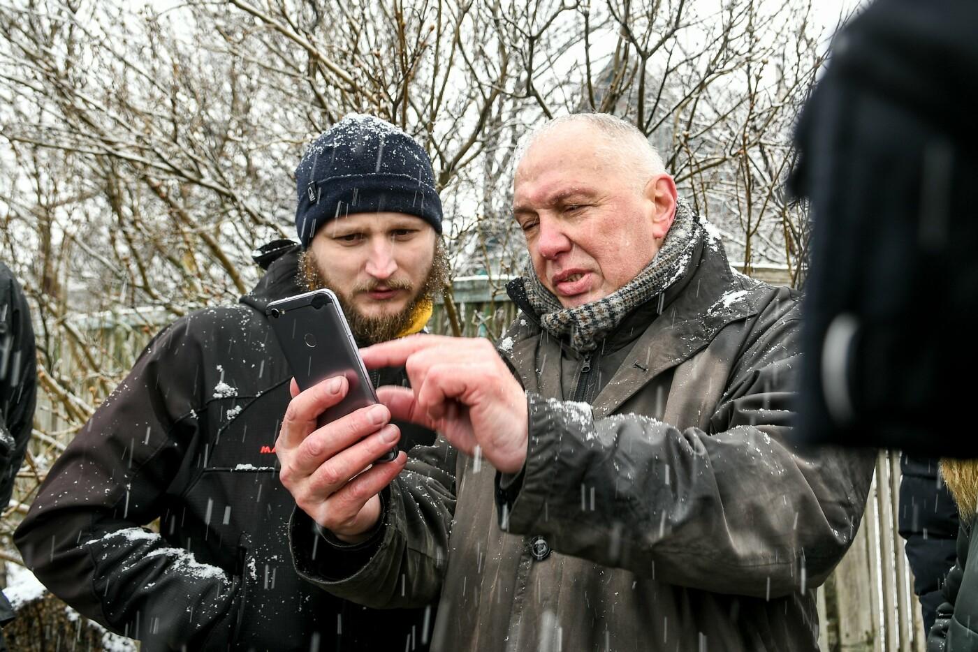 В Запорожской области эксперты по радиологии начали отбирать пробы в селе, где планируют построить каолиновый карьер, фото-1