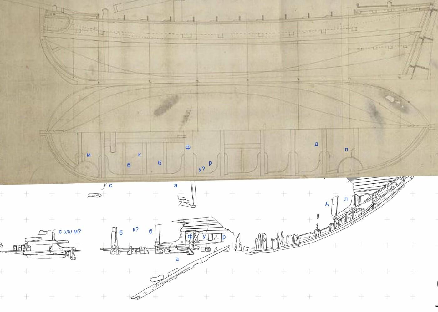 Запорожские археологи продолжают исследовать судно, затонувшее на дне Днепра 300 лет назад: что о нем известно, фото-1