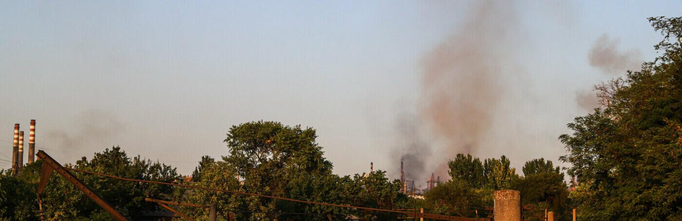 Запорожские предприятия-загрязнители заплатили на 22% меньше эконалога, чем годом ранее
