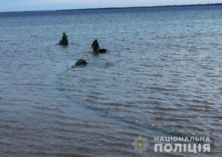 Водная полиция выявила браконьера, который ловил креветку в Утлюкском лимане